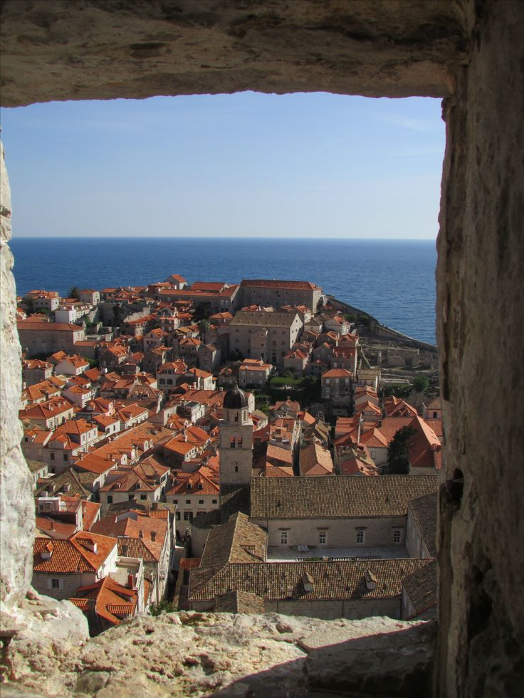 Views of Dubrovnik walled city