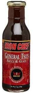 IRON CHEF General Tsos Sauce  Glaze All Natural No Preservatives 15 oz glass bottles Pack of 4 ** Visit the image link more details. Note:It is affiliate link to Amazon.