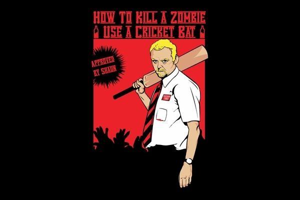 How to Kill A Zombie - Use a Cricket Bat