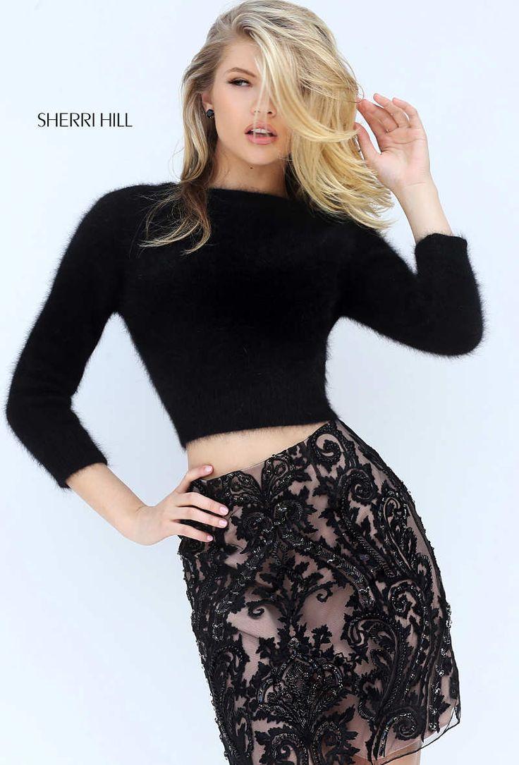 Auch im Herbst und Winter musst du nicht auf ein kurzes Kleid verzichten! Die @sherrihill Modelle mit flauschig-warmen Tops sind perfekt für alle Events in der vierten Jahreszeit! Gibts natürlich bei uns ;-) http://crusz.de Foto: Sherri Hill