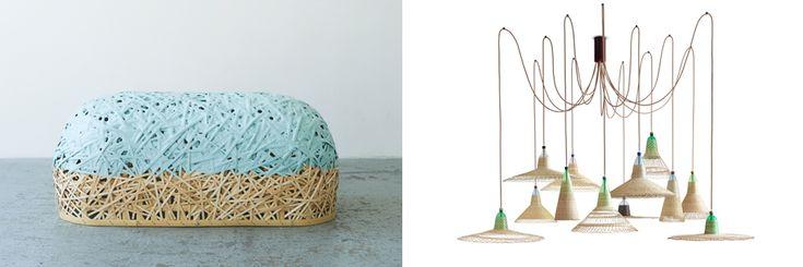 Lamp made of recycled plastic bottles. Lidewij Edelkoort: trends autumn/ winter 2015-2016