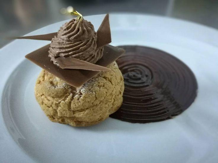 #profiteroles#daily#special#choux#vanilla#patisserie#sauce#chocolate