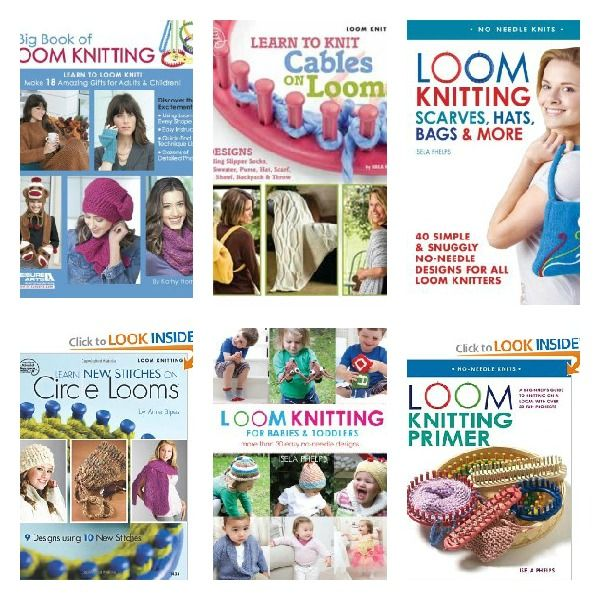 Round Loom Knitting Projects For Beginners : Loom a hat free knitting pattern and tutorials