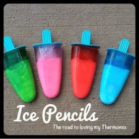 The road to loving my Thermomix: Ice Pencils