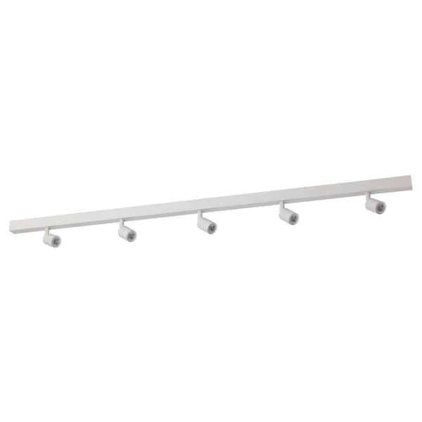 Ikea Bave Led Plafondrail 5 Spots Zolder Verlichting Lampen Rails Plafondverlichting