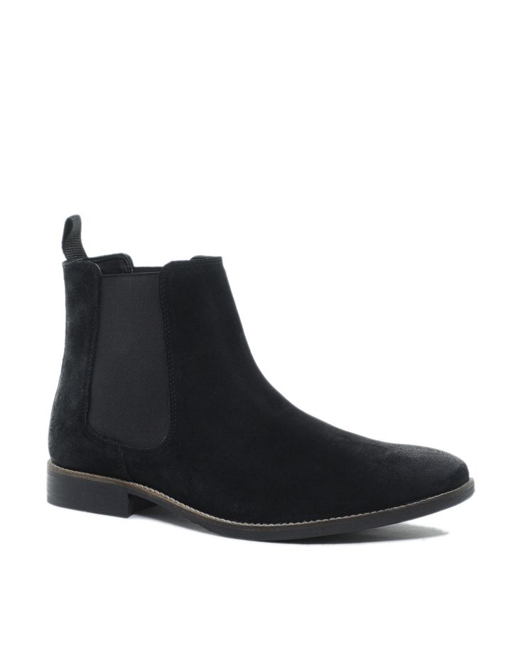Black Suede Chelsea Boots by Asos. Buy for $60 from Asos