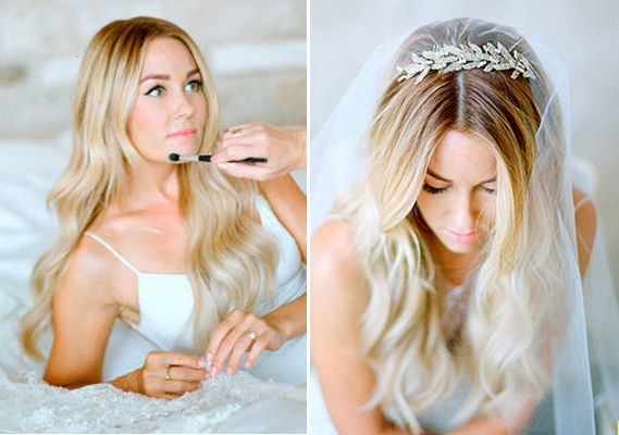 lauren conrad wedding hair - Google Search