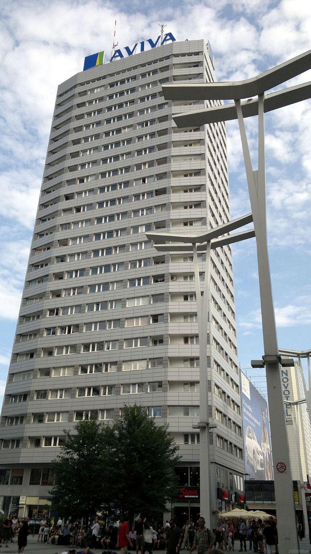 Ściana Wschodnia w Warszawie, czyli wysokościowce z 1969 roku :: ARBITER.PL