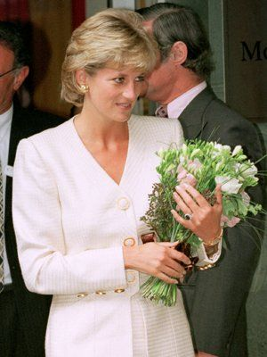 Princess Diana visited Mortimer Market Centre in London as a patron of the National Aids Trust, a cause that was very dear to her. She met with staff and patients at the clinic and learned about the latest developments in treatment and care for people with HIV/AIDS, June 27, 1996.
