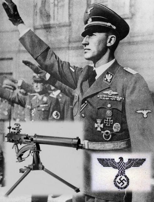 """7* Spannend, er zijn veel spannende stukken in het boek. Sommige stukken komen goed andere niet...... Opeens werd hij ruw voorovergegooid. Hij landde met gespreide armen en benen op de harde ondergrond en schaafde zijn linker wenkbrauw open. Een seconde later werd er een voet in zijn nek gedrukt. """"Verder kom je niet, jonge Münchenaar."""" zei Heydrich."""