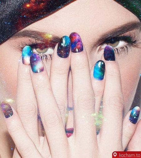 Kocham.to - Galaktyczne naklejki na paznokcie