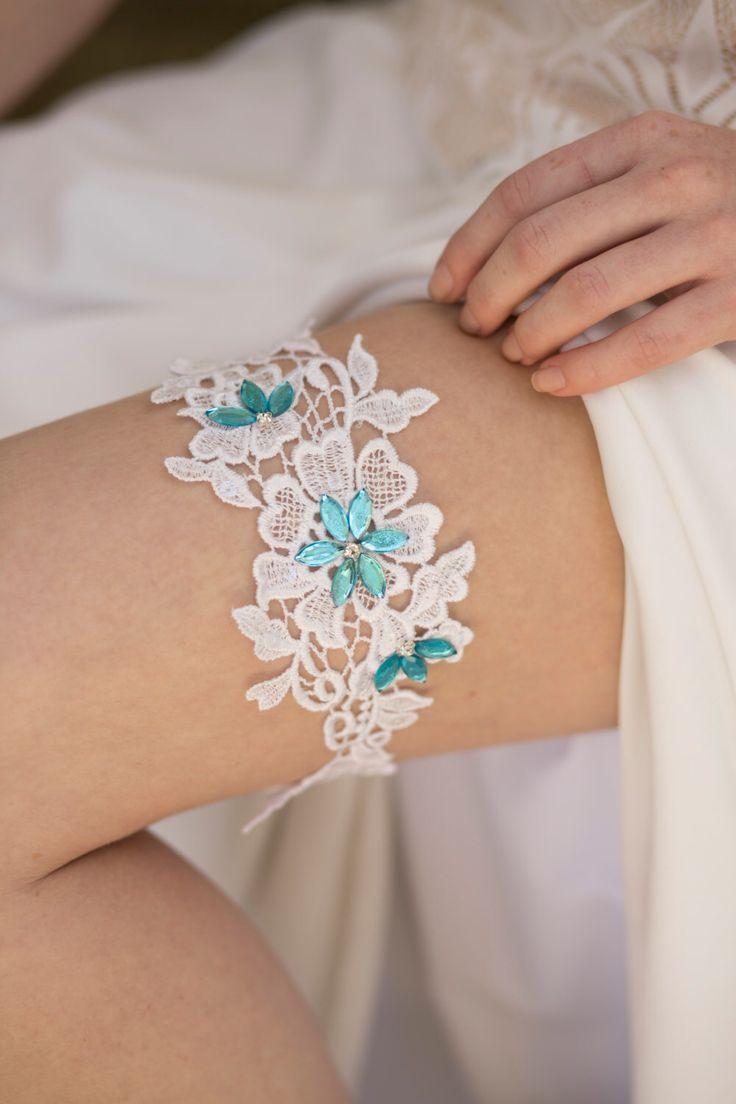 Blue Wedding Garter, White Bridal Garter, Lace Garter Belt, Something Blue Garter, Rustic Wedding Garter,  Lace Wedding Garter, Blue Garter by LiataBridalBoutique on Etsy https://www.etsy.com/listing/277337538/blue-wedding-garter-white-bridal-garter