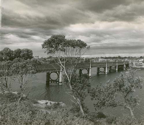 Gladesville Bridge over Parramatta river