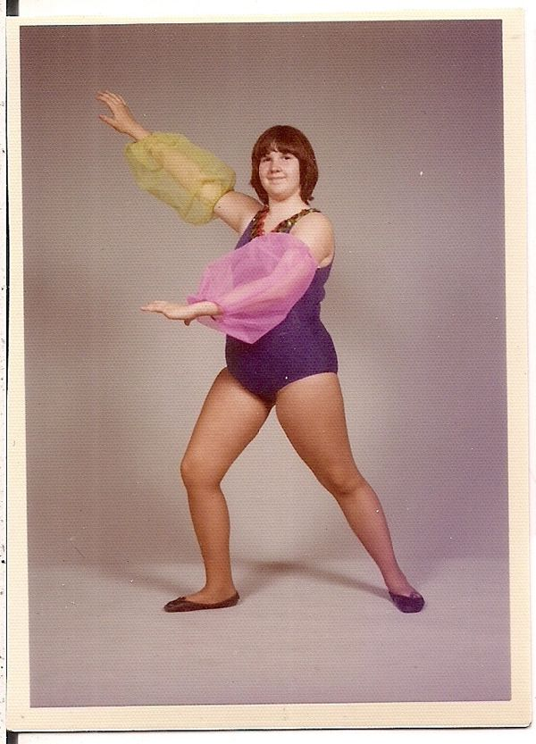 Awkward, Awesome Vintage Dance School Photos .You just thought your pictures were awesome .... This girl is rockin it.