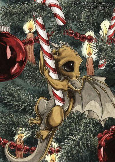 Christmas Dragon photo: by Misti Hope Wudtke of www.mistique.com This photo was uploaded by Pwyrdan