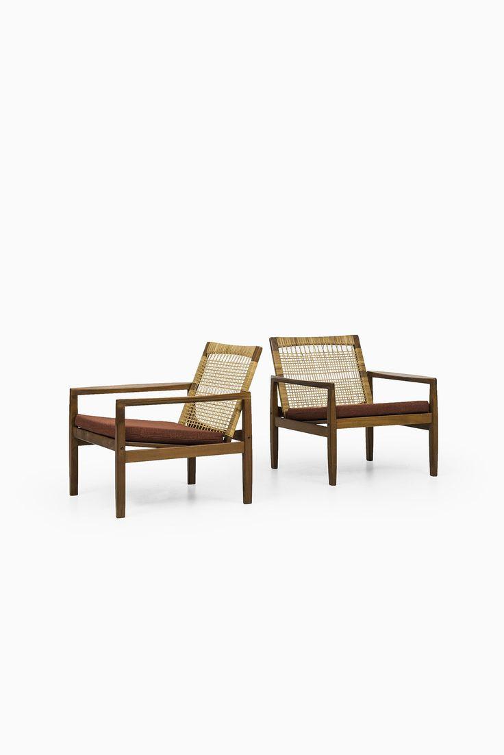 Hans Olsen easy chairs model 519 at Studio Schalling