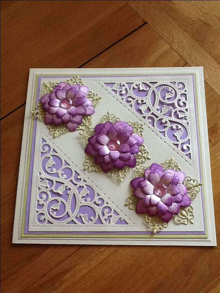 Birthday card made using spellbinders gold elements dies and heartfelt creations sunkissed fleur stamps and dies and arianna lace.