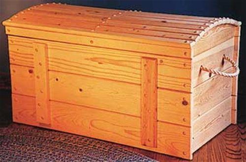 Treasure Chest Toy Box Plan