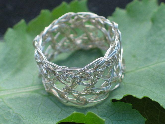 Filigraner Ring aus 925er Silber - absolut edel! von la-filigrana auf DaWanda.com
