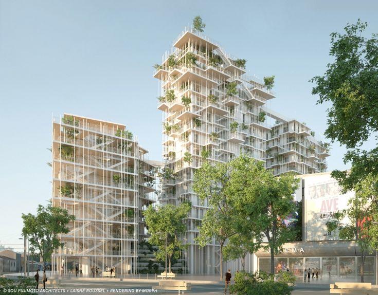 В Бордо построят деревянный небоскреб по проекту Су Фудзимото :: Статьи
