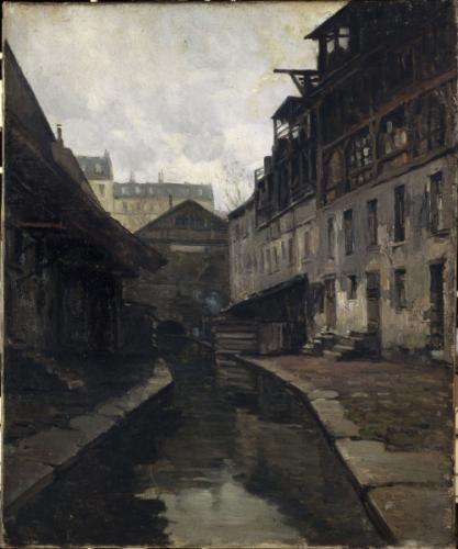 La Bièvre, entre la rue Pascal et la rue Broca | Paris Musées