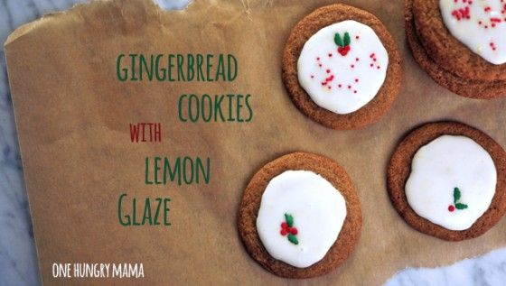 Chewy Gingerbread Cookie