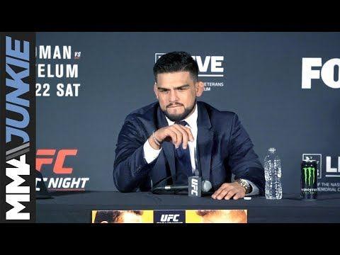 MMA Kelvin Gastelum full UFC on FOX 25 post-fight interview