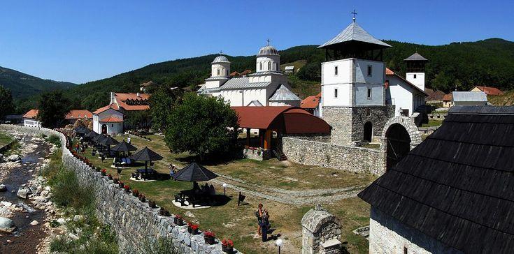 Monastery Mileševa in region Raška-Oblast