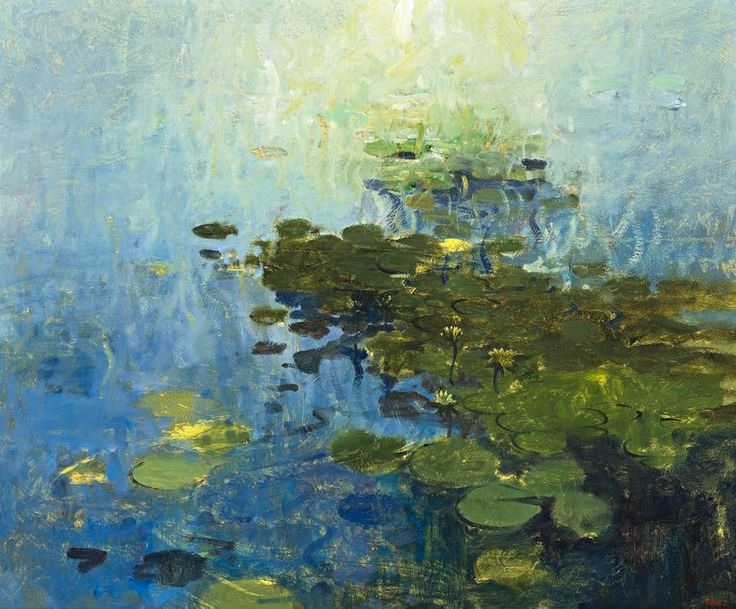 Waterlilies | Lawrence Daws - 1983