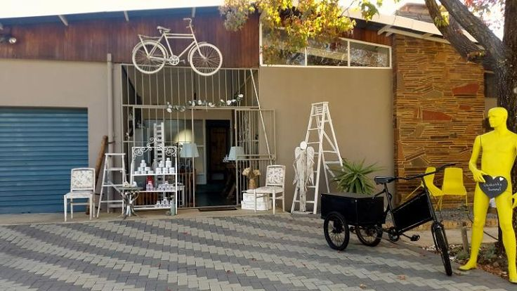 Run by a dynamic mother and daughter team, Art & Soul store has a rustic chic down to earth feel to it and the sky is the limit when it comes to a quick change and a new daring dash of colour. It's in Welkom in the Free State.