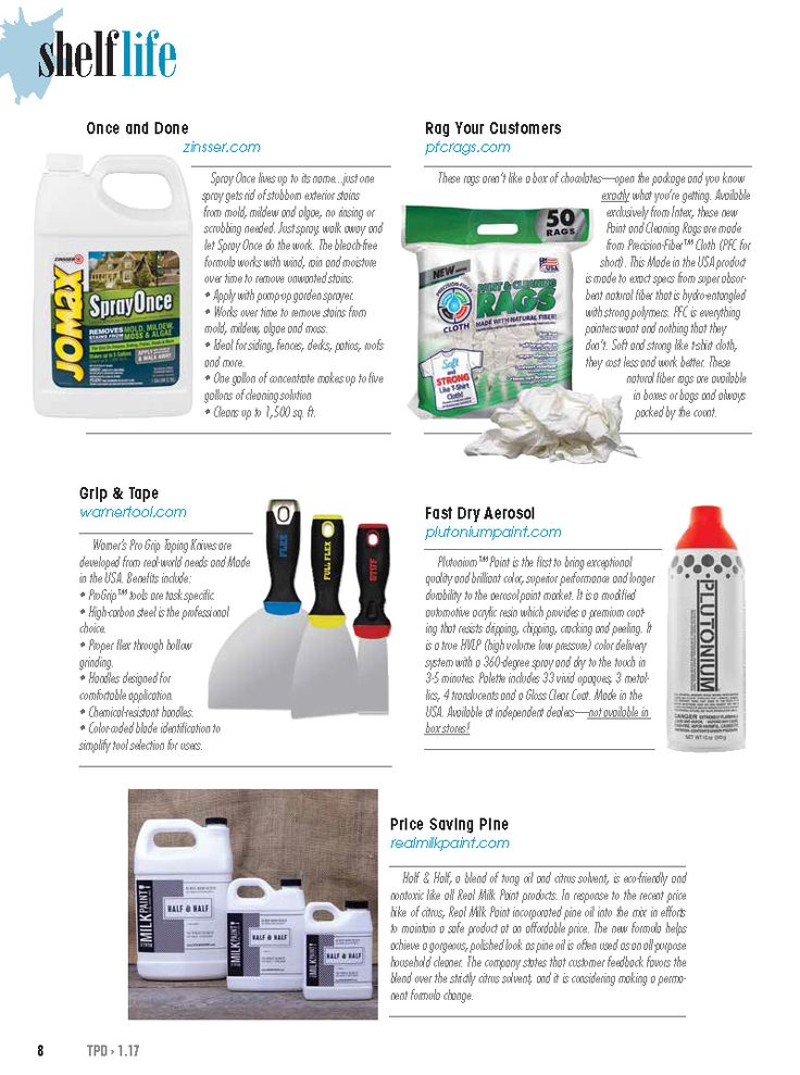 Shelf Life Our Products Will Fly Off Your Via The Paint Dealer