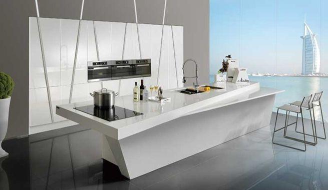 121 best images about cocinas on pinterest island bench - Cocinas con islas modernas ...