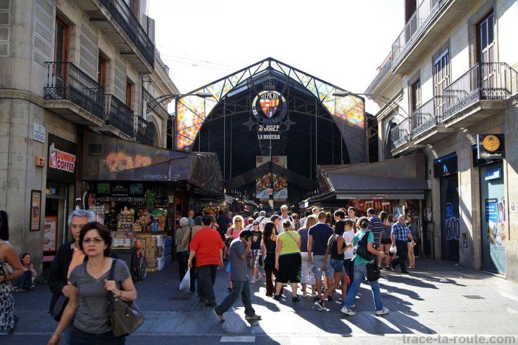 La Boqueria, marché de Barcelone (Mercat Sant Josep)