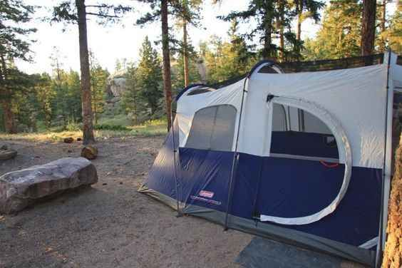 Coleman Weathermaster Tent With Screen House 6 Person
