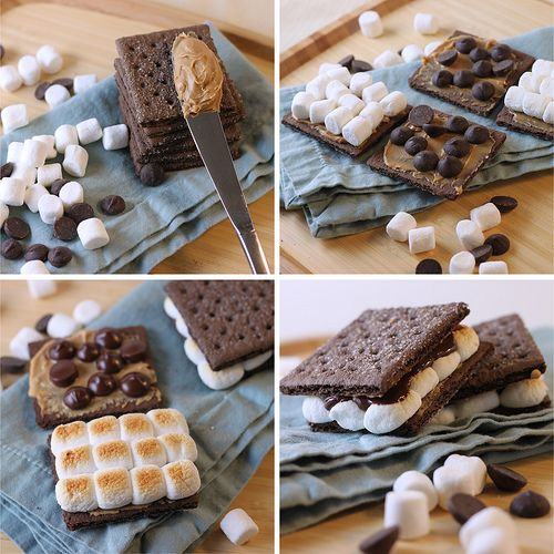 Quickie: Double Chocolate Peanut Butter Smores Recipe ...