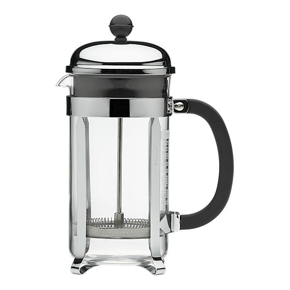 french press - the only real way to drink coffee
