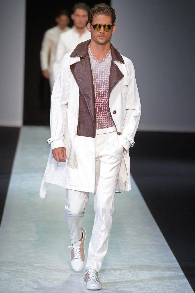 Giorgio Armani Men's RTW Spring 2014 - #menswear