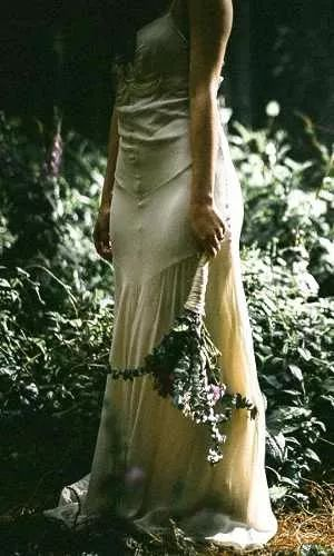 vestido novia romantica vintage años 20 charleston