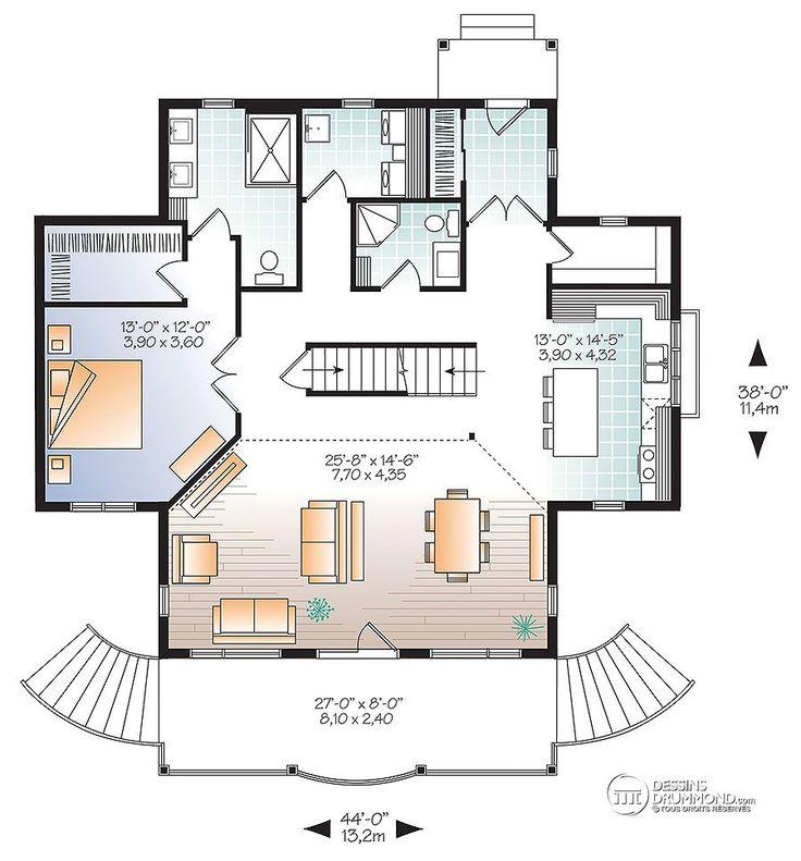 Détail du plan de Maison unifamiliale W2939-V1