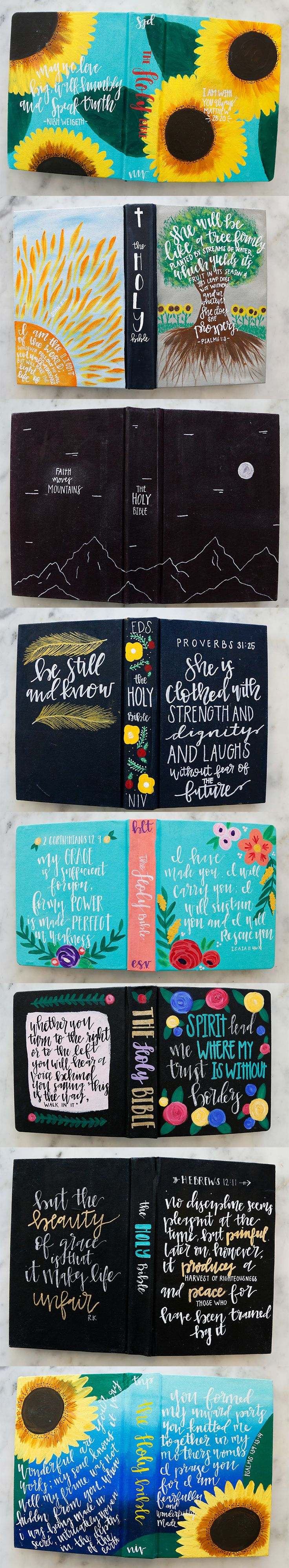 A small taste of the recent collection of custom Bibles we created for some amazing people this week. Let us be a part of your journey by planting a seed with us over on our website to create your Custom Bible today!