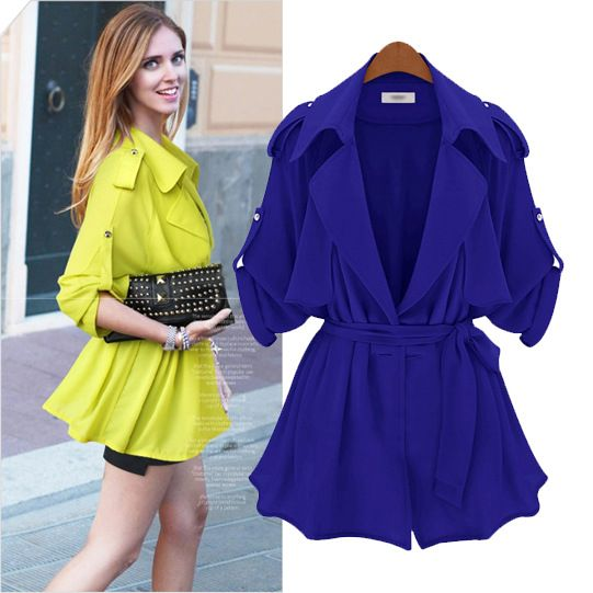 Aliexpress.com : Buy Fashion autumn 2013 turn down collar batwing sleeve loose high quality haircord trench outerwear 9117 from Reliable fashion unisex suppliers on Cherry&jiang. $26.30