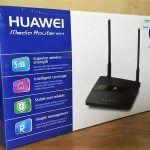 """Router Huawei WS319. Bisa diaplikasikan utk RT RW net & Cafenet.  Kelebihan : * Coverage-nya lebih luas """" Harga sangat terjangkau.  Spesifikasi : 300 mbps / 5 dbi wireless strength / Intelligent coverage / Stable / Simple management  Router ini sangat cocok diaplikasikan untuk pembelajaran / sarana berlatih anak-anak SMK dengan jurusan TKJ."""
