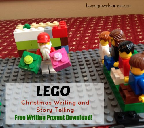 LEGO Christmas Writing Prompts and Story Telling - Free Download! - Home - Homegrown Learners