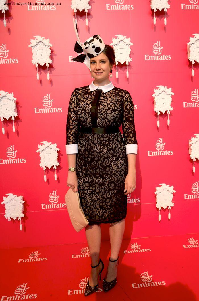 Lady Melbourne in Montique for 2014 Melbourne Cup #melbcup #emirates #fashion #style #montique