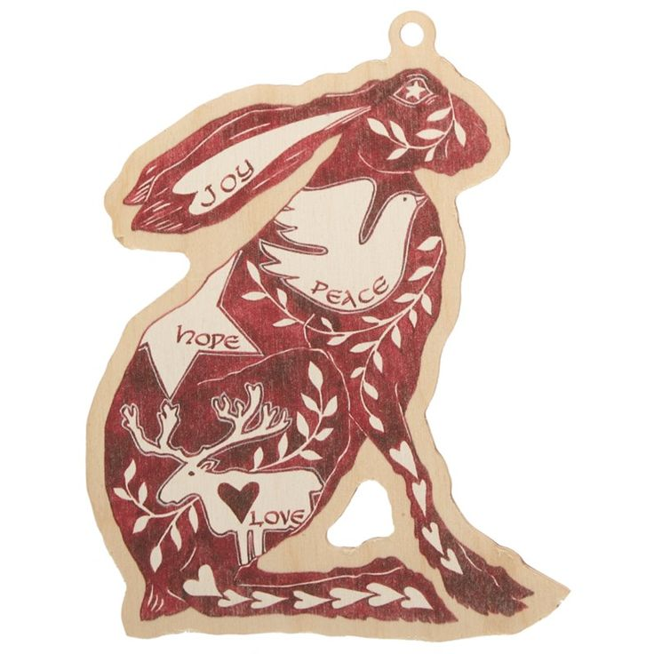 Dobbies Christmas Collection Hare Decoration