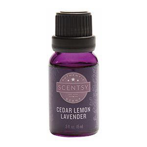 Cedar Lemon Lavender Scentsy Oil is the perfect pick-me-up after a long day. Try our Scentsy Essential Oils. $10 each (15 ml) #scentsy #oil #diffuser #fragrance