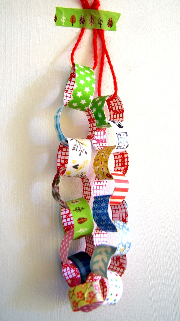 """One of these paper chains could also be a craft! PNM's could decorate their own piece of paper with something related to DVA (sort of like the """"Love Is"""" thing we did) and then we can put them all together!"""