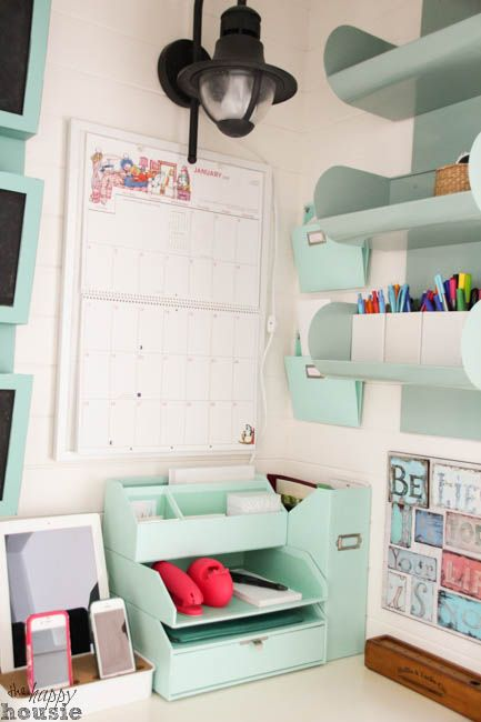 Command Central Station Creating A Center In Closet At The Happy Housie 26