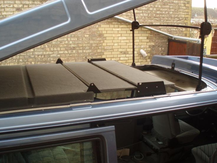 Detail Of Folding Roof Bed Campervan Bed House On Wheels