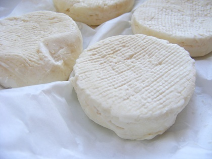 Cabécou, local goat cheese we serve from a farm ( Le contou) in Capdrot
